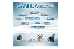 Sanhua accepts the challenge of new low-GWP refrigerants