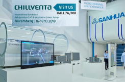 Visit us at Chillventa with free entry-card